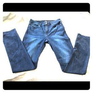 New York And Company high waist skinny jeans